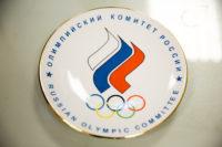 2017г. Тарелка сувенирная Олимпийского комитета России