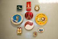 Значки. Сувенирная продукция к Олимпийским Играм в Москве в 1980г.