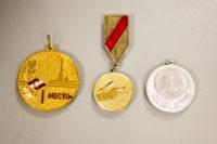 Медали наградные по спортивному плаванию